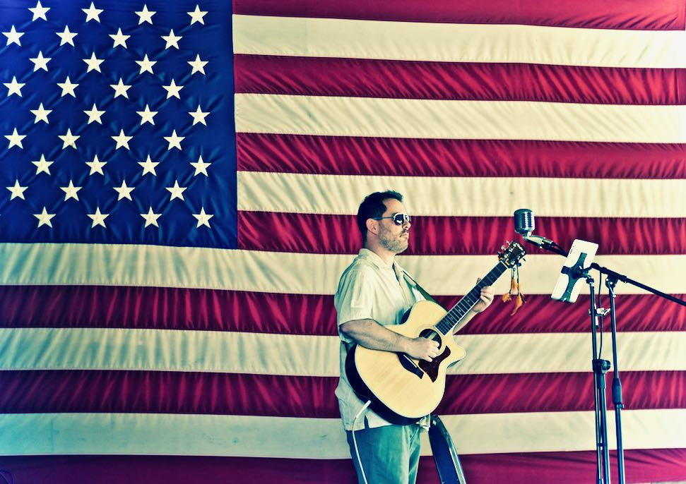Patriotic Guitarist