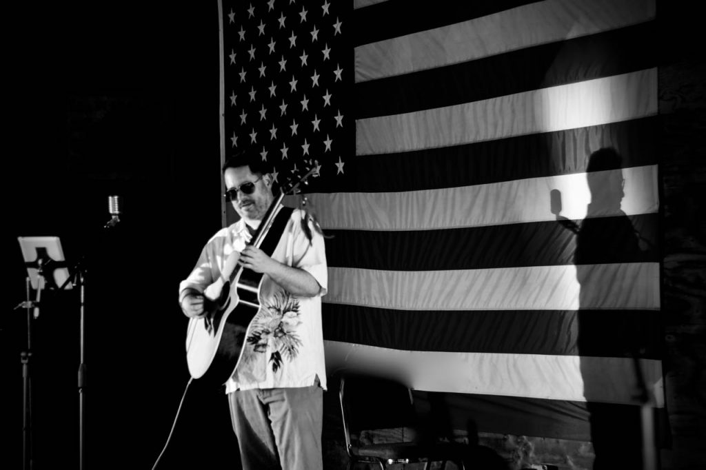Jeremiah Williams American Flag