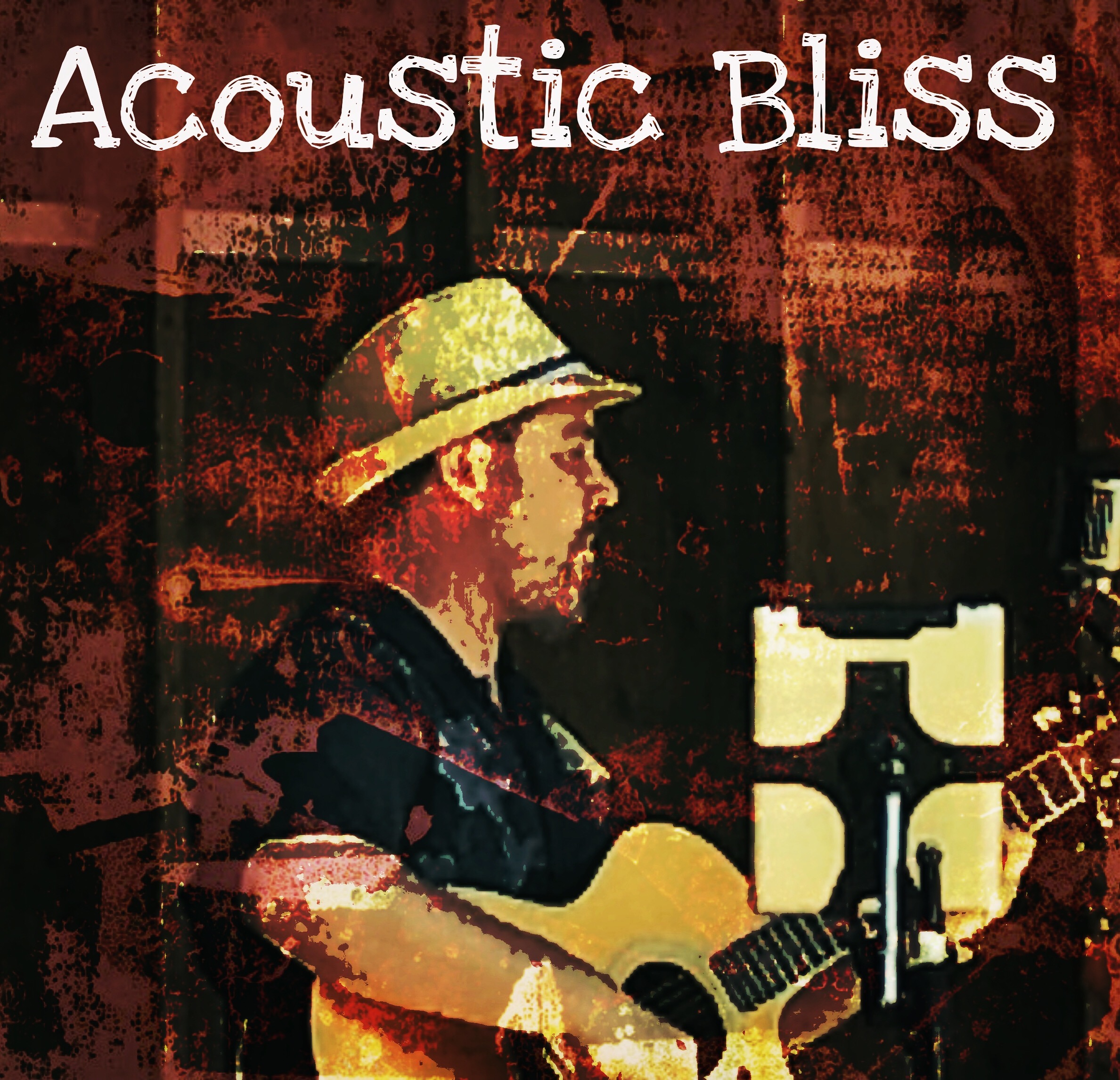 Jeremiah Williams playing in Acoustic Bliss